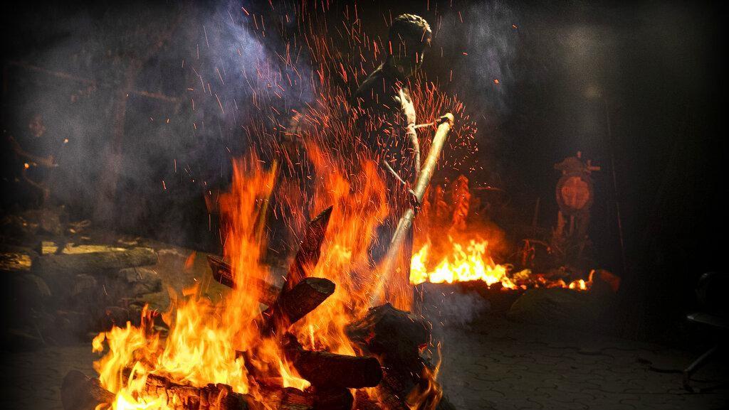 Kisah Pilu Kremator Jenazah COVID-19 di India
