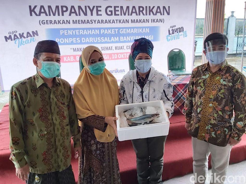 KKP Kembali Ajak Ponpes di Banyuwangi Gemar Makan Ikan