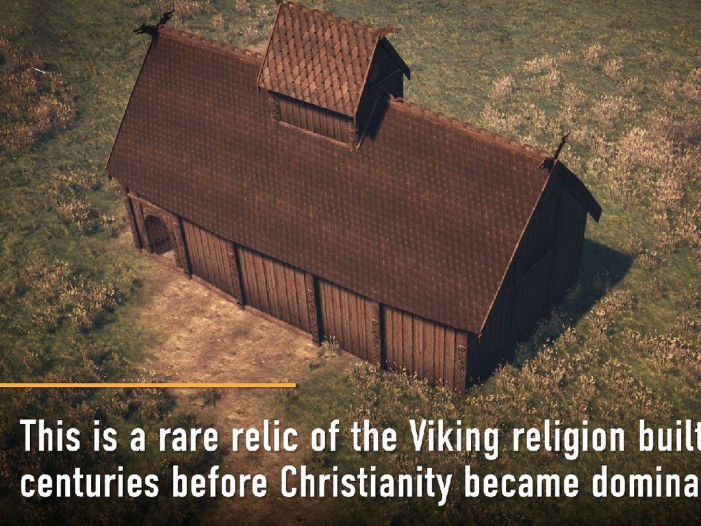 Kuil Dewa Odin dan Thor Ditemukan di Norwegia