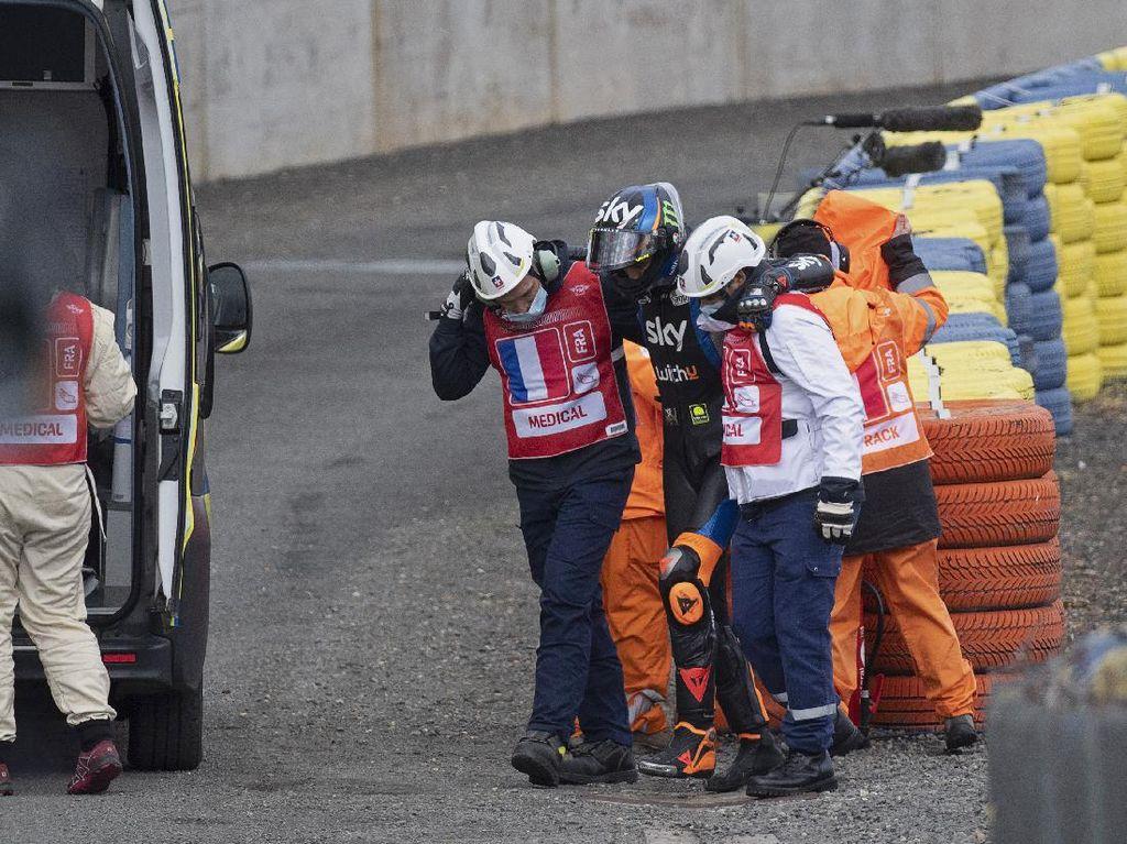 Valentino Rossi Panik Adiknya Kecelakaan di Le Mans