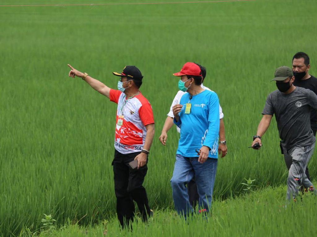 Kunjungi Sawah Abadi, Mentan Dorong Urban Farming di Jakarta