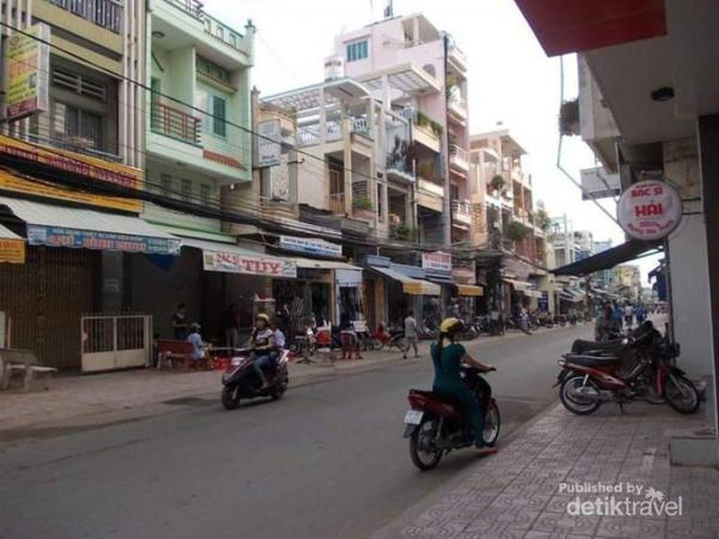 Pagi di Chau Doc Vietnam