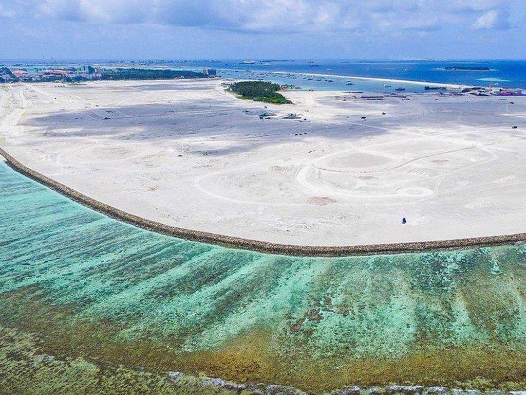 Perubahan Iklim Dijawab Maladewa dengan Bangun Pulau di Samudra Hindia
