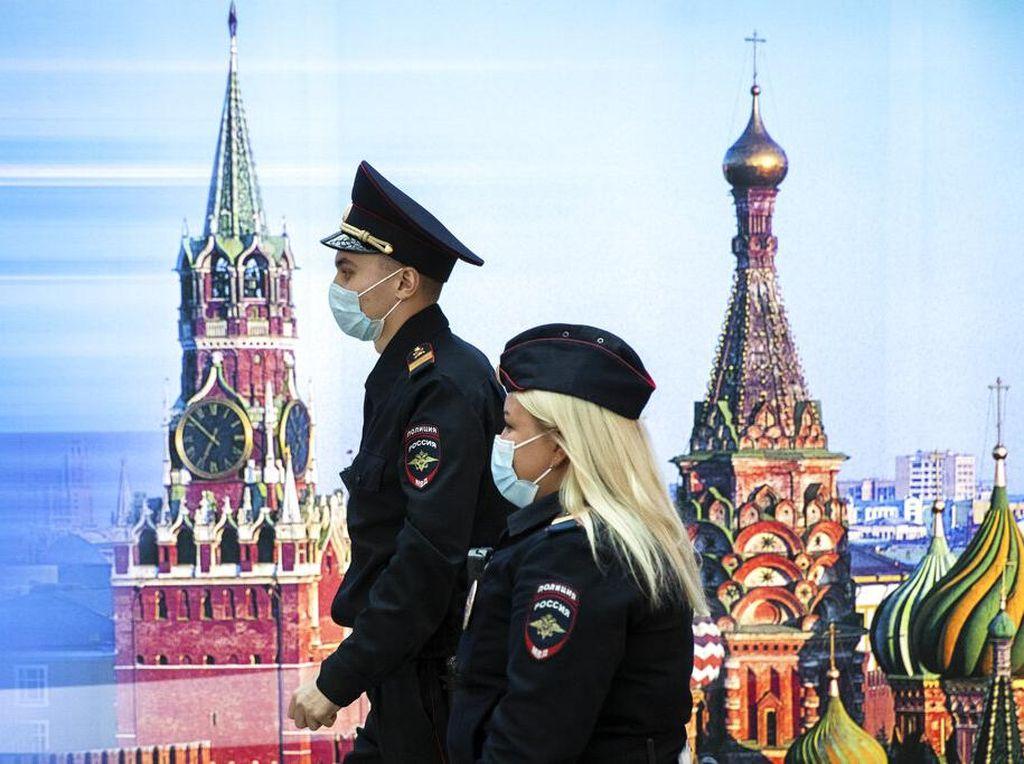 Cetak Rekor Tertinggi Lagi, Rusia Catat Nyaris 14 Ribu Kasus Corona Sehari