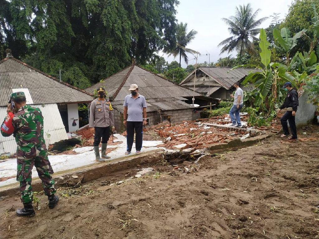 Diguyur Hujan Deras, Tembok Rutan Bangli di Bali Roboh
