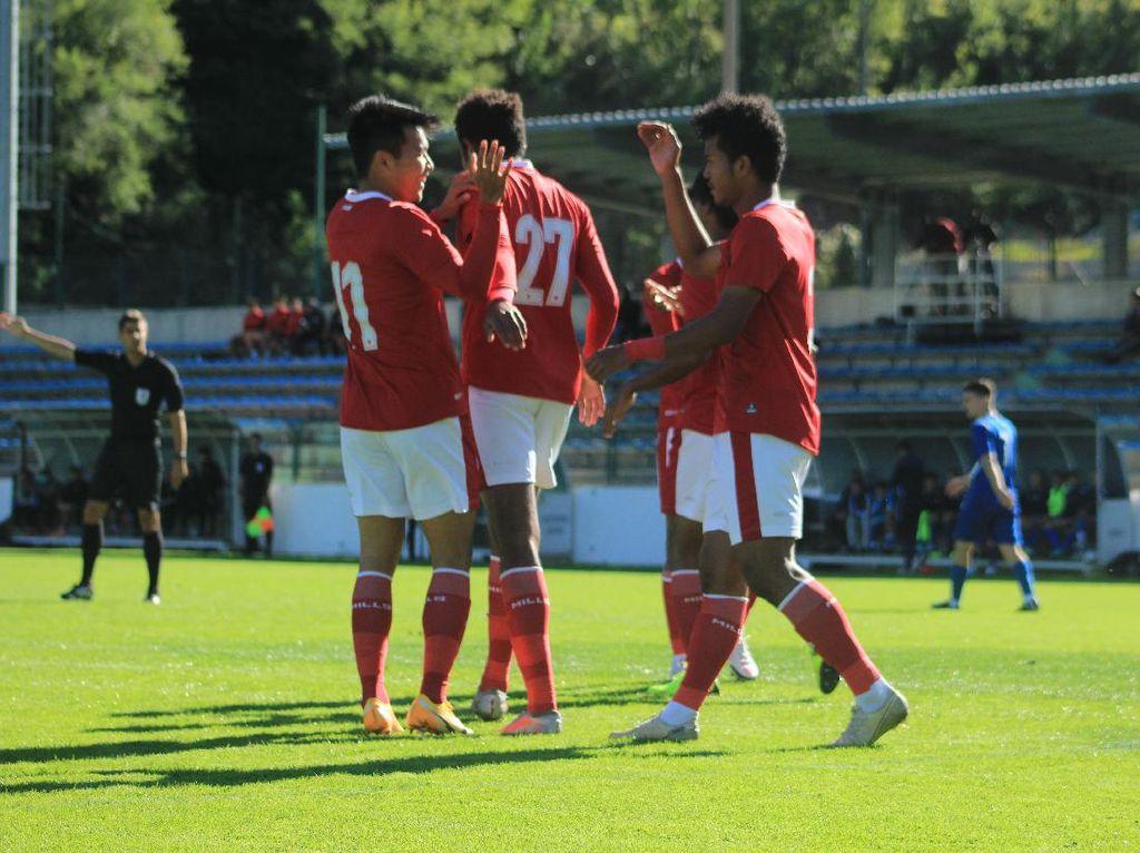 Timnas U-19 Vs Makedonia Utara Berakhir Imbang 0-0