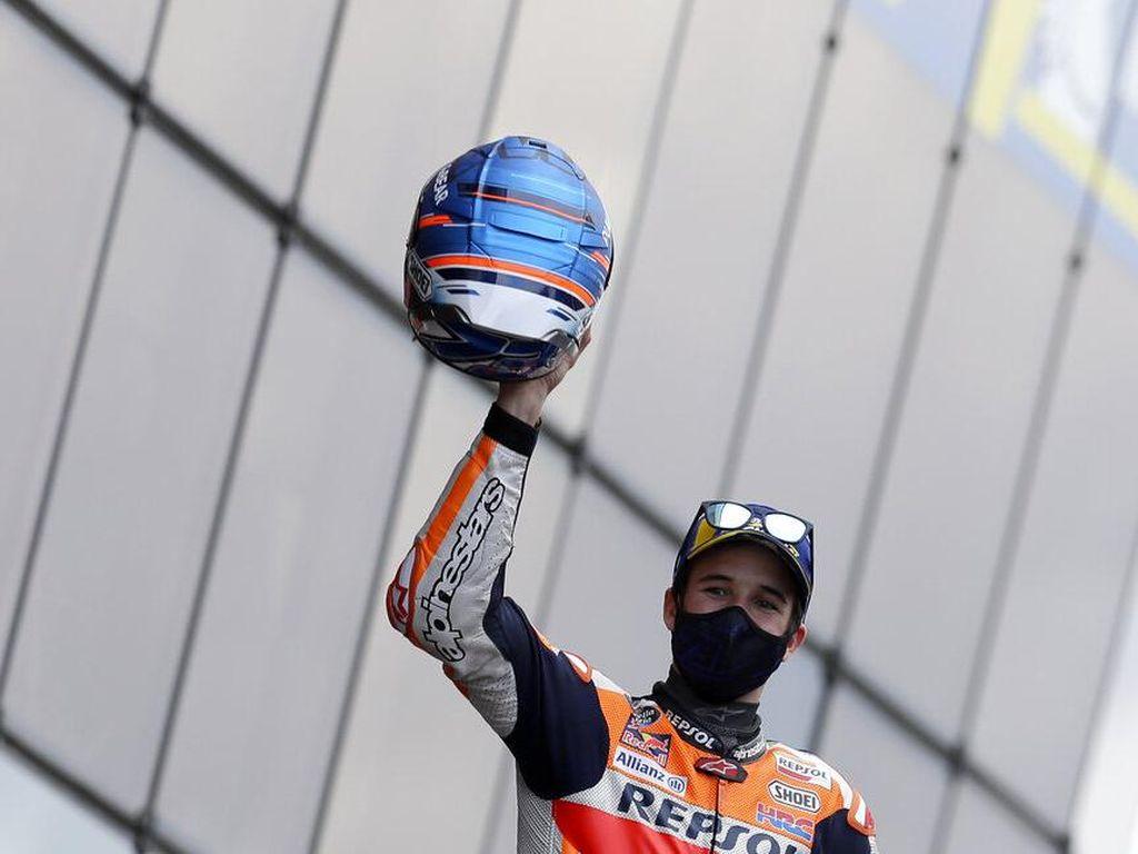 Alex Marquez Gila! Start ke-18, lalu Finis Kedua di MotoGP Prancis