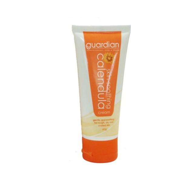 Guardian Skin Soothing Calendula Cream yang sangat cocok digunakan oleh kamu si pemilik kulit kering.