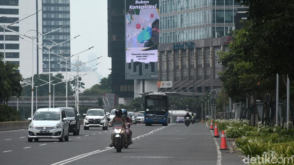 Jakarta Kembali PSBB Transisi, Ganjil Genap Belum Mulai Lagi