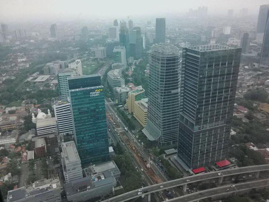 Jakarta Itu Cantik, Sayang Kabut Asapnya Itu Lho