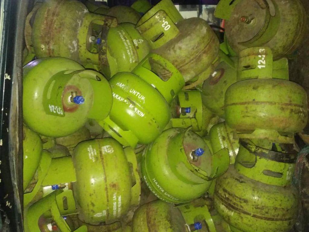 Polisi Tangkap Komplotan Pencuri 110 Tabung Gas 3 Kg di Sumut