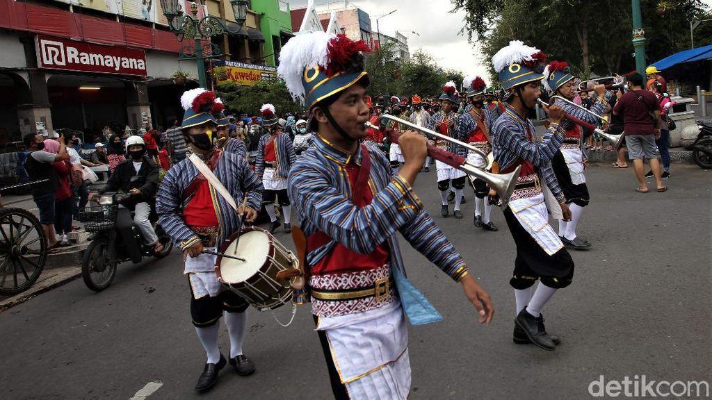 Potret Kemeriahan Kirab Jaga Yogyakarta Damai