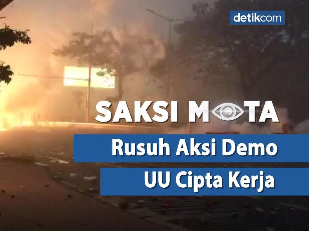 Saksi Mata: Gejolak Aksi Demo Tolak Omnibus Law di Tanah Air