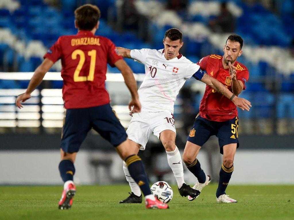 UEFA Nations League: Spanyol Kalahkan Swiss 1-0