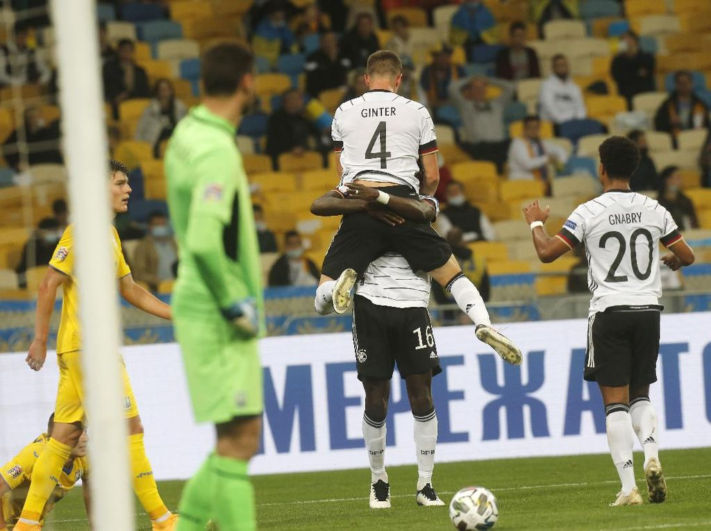 Ukraina Vs Jerman: Die Mannschaft Menang Tipis 2-1