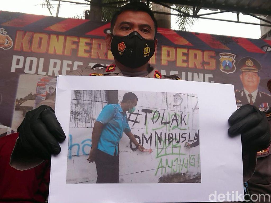 6 Pelajar Pelaku Vandalisme Provokatif di Tulungagung Diamankan