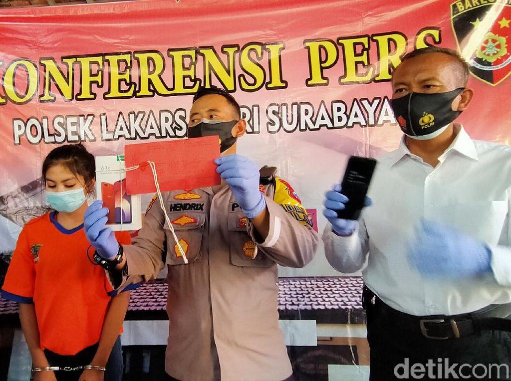 Gadis di Surabaya yang Terlibat Pembegalan HP Kini Beberkan Alasannya