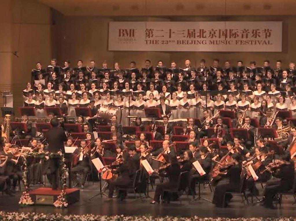Simfoni untuk Korban Corona di Festival Musik Klasik China