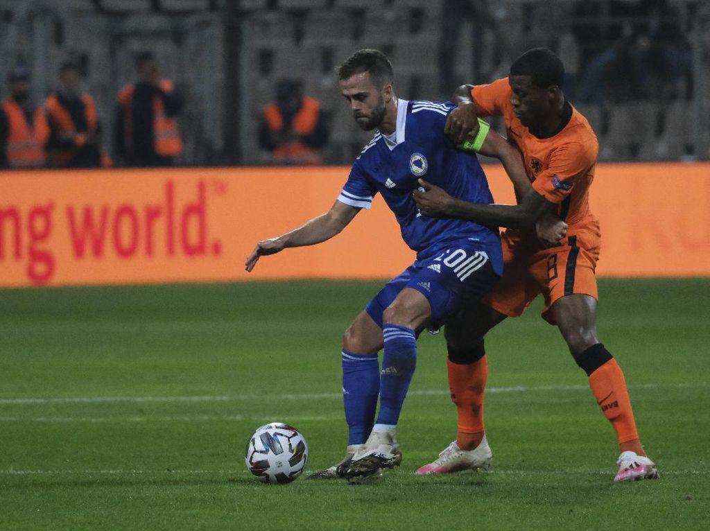Bosnia-Herzegovina Vs Belanda Berakhir Imbang 0-0