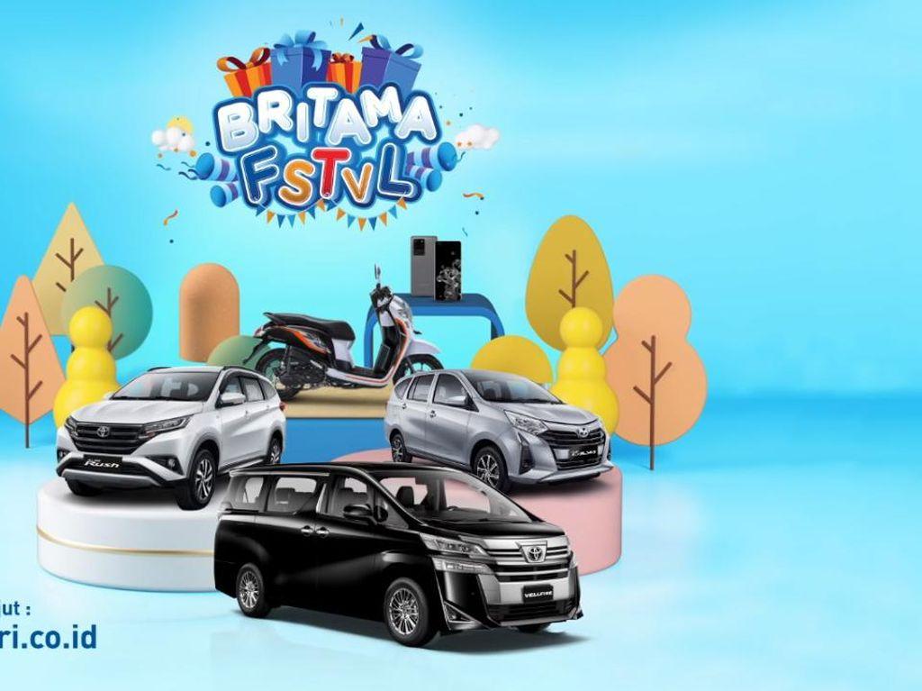 Nabung Untung Plus Dapat Hadiah di BritAma FSTVL, Begini Caranya!
