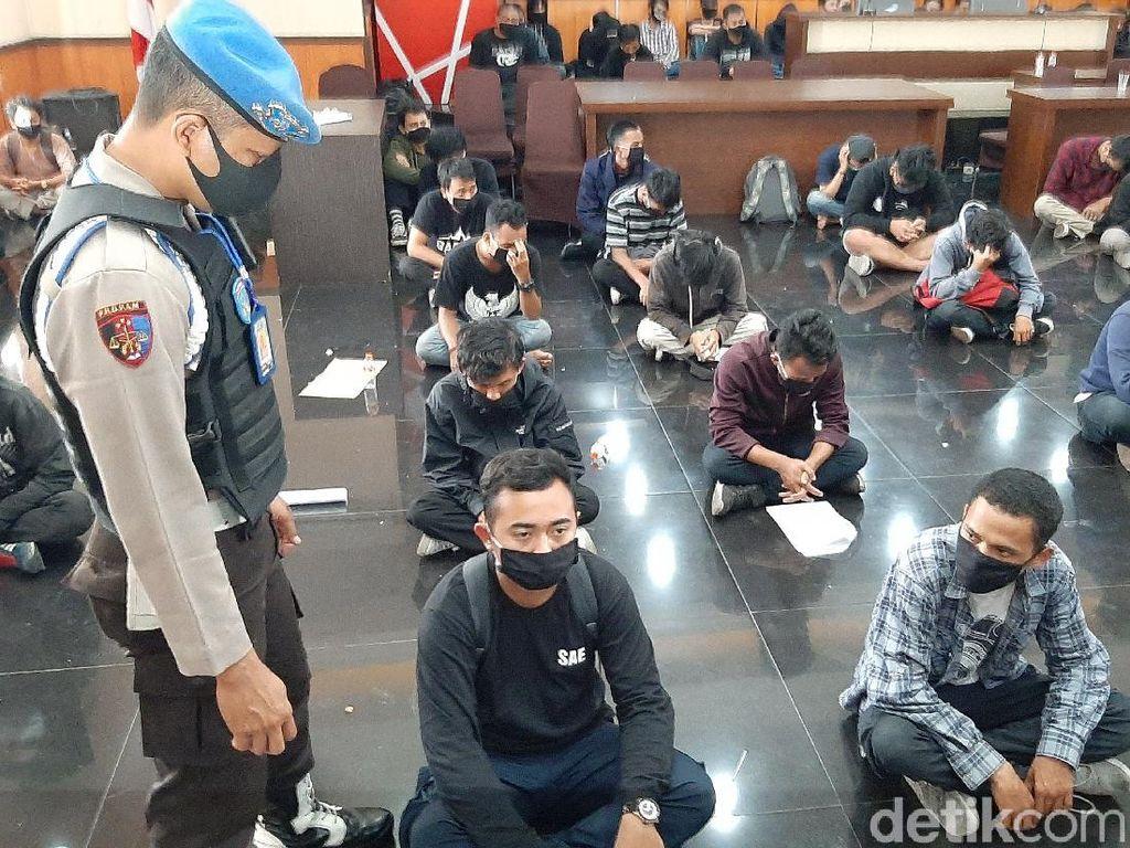 Satu Pendemo Omnibus Law yang Ricuh di Kota Malang Ditetapkan Tersangka