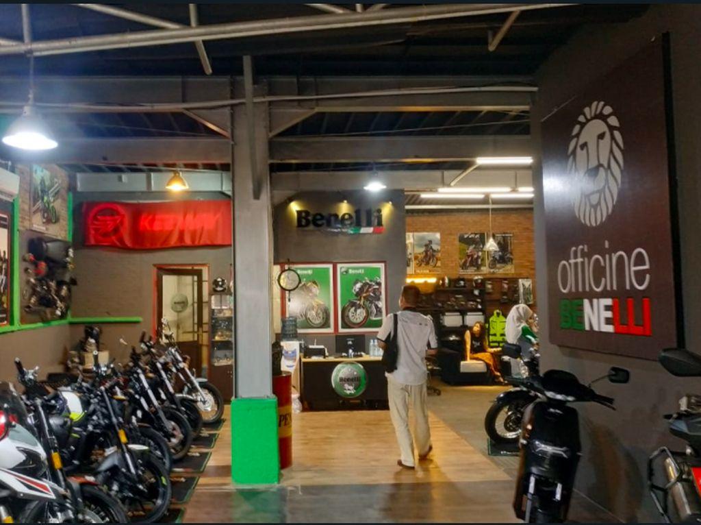 Nempel Bingky Station, Benelli Buka Rumah Baru di Jakarta