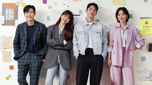Drama Korea Start-Updok. tvN via Hancinema.