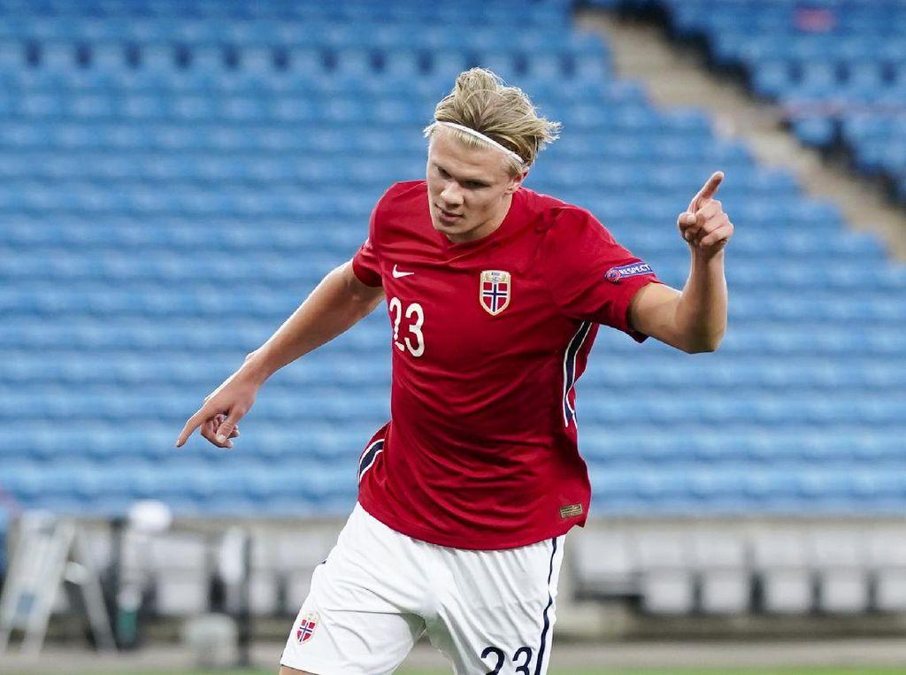UEFA Nations League: Haaland Hat-trick, Norwegia Hajar Rumania 4-0