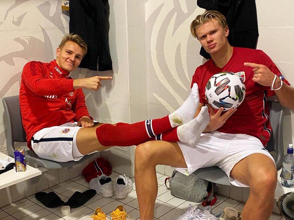Haaland Yakin Odegaard Akan Bersenang-senang di Arsenal