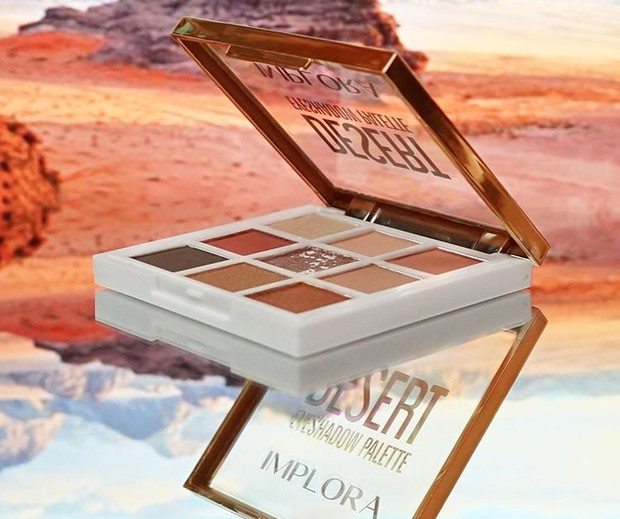 Implora Eyeshadow Pallete Desert
