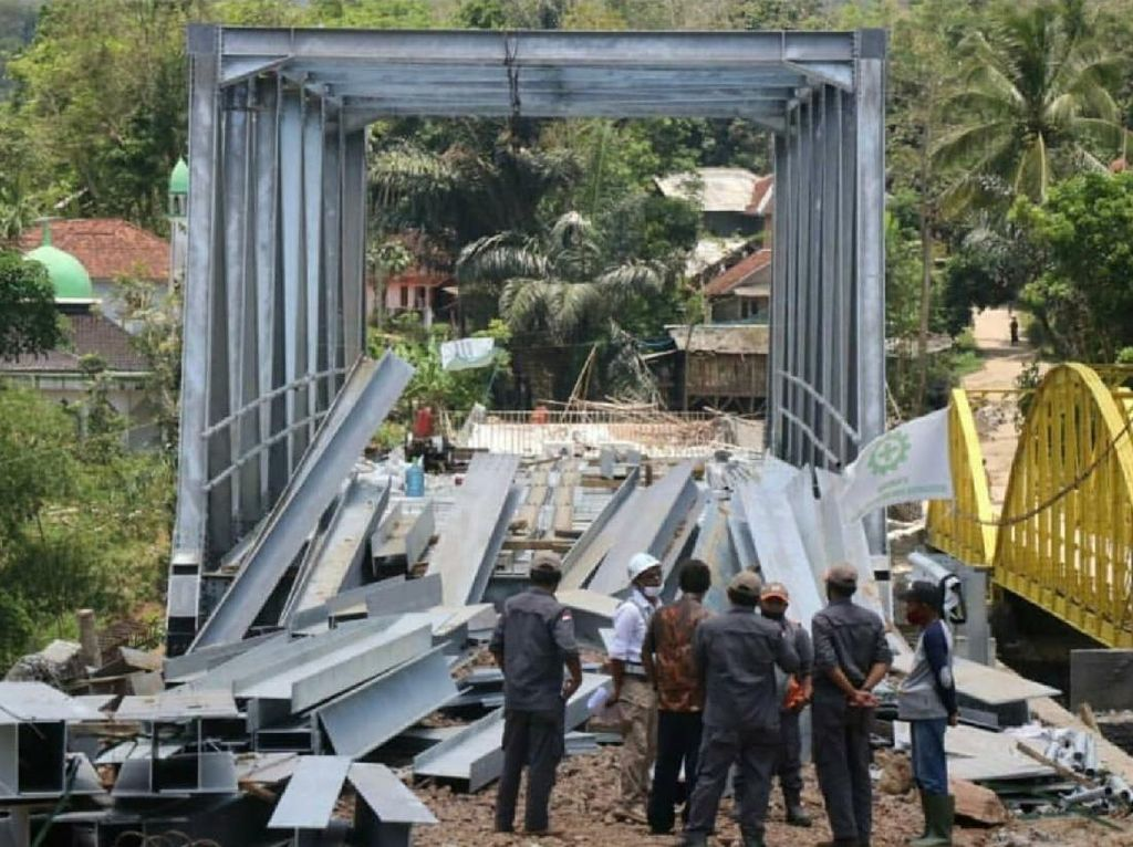 Jembatan Penghubung Sukabumi-Cianjur Rampung Desember