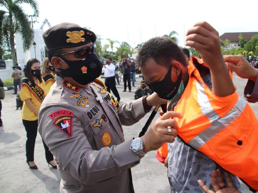 Polda Kalteng Bikin Rompi Khusus Cegah Kekerasan ke Jurnalis Berulang