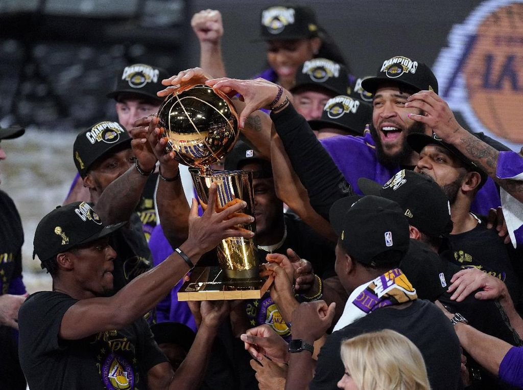 Atasi Miami Heat di Final, LA Lakers Juara NBA 2020!