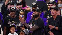 Top! Lakers Juara, LeBron James MVP Final NBA 2020