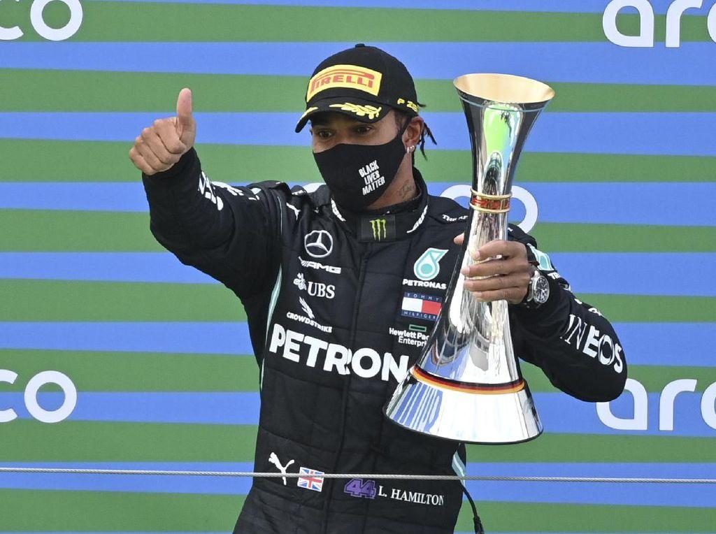 Menangi  F1 GP Eifel, Lewis Hamilton Samai Rekor Michael Schumacher