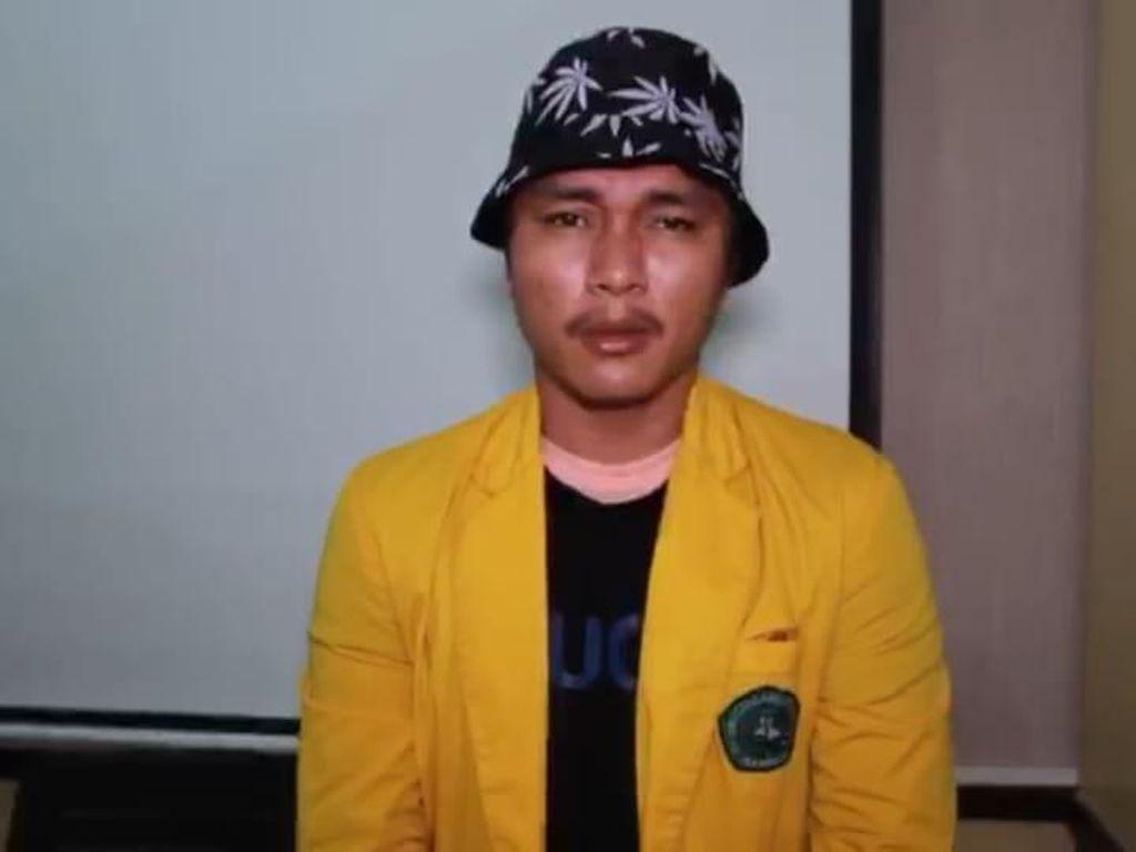 Rusak Mobil Patroli, Mahasiswa Gadungan di Riau Ditangkap Polisi