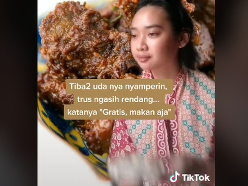 Dikira Gembel Saat Makan Nasi Padang dan Mie Ayam Rp 3.000 yang Laris Manis