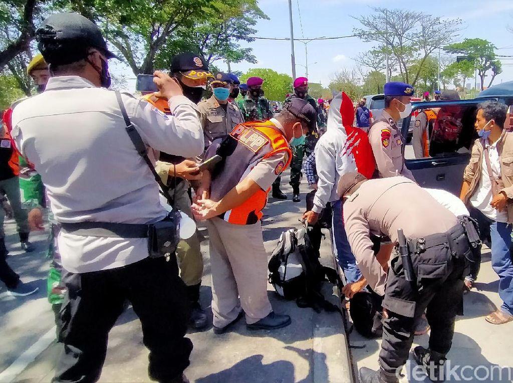 Razia Protokol Kesehatan hingga Antisipasi Kejahatan di Suramadu