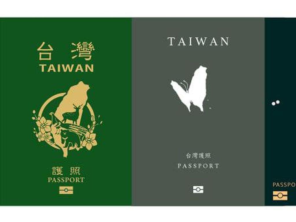 Ragam Desain Paspor Baru Taiwan: Bubble Tea-Babi Rebus