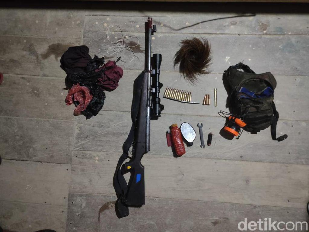 Kontak Senjata dengan KKSB di Sugapa, TNI Temukan 1 Senpi Laras Panjang