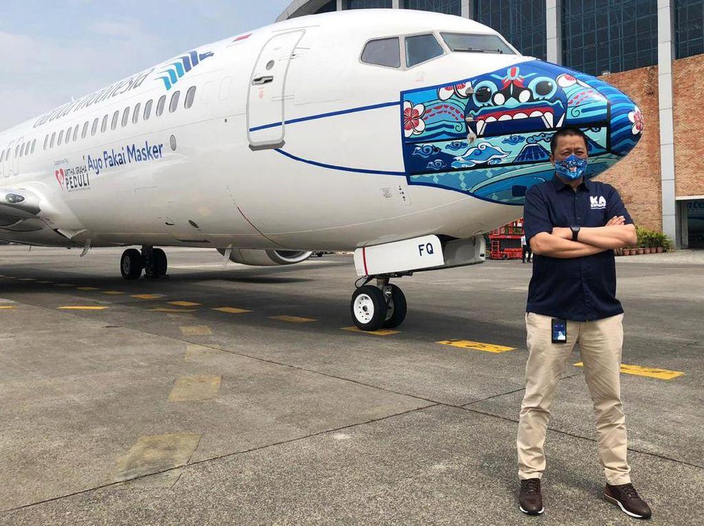 Garuda Kembalikan 2 Pesawat Boeing 737-800 NG ke Lessor