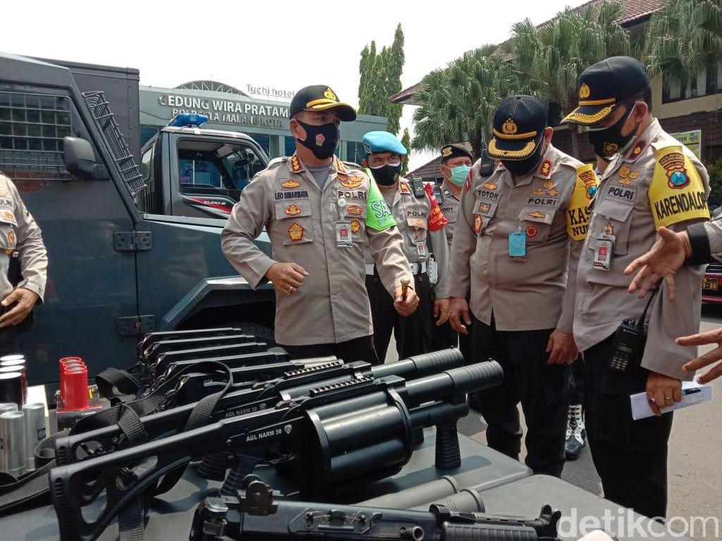 Antisipasi Demo Omnibus Law Susulan di Kota Malang, 3 Ribu Personel Disiagakan