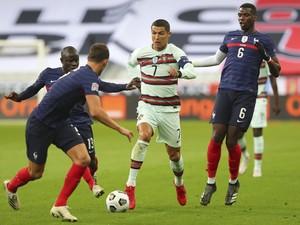 Prancis Vs Portugal Tuntas 0-0