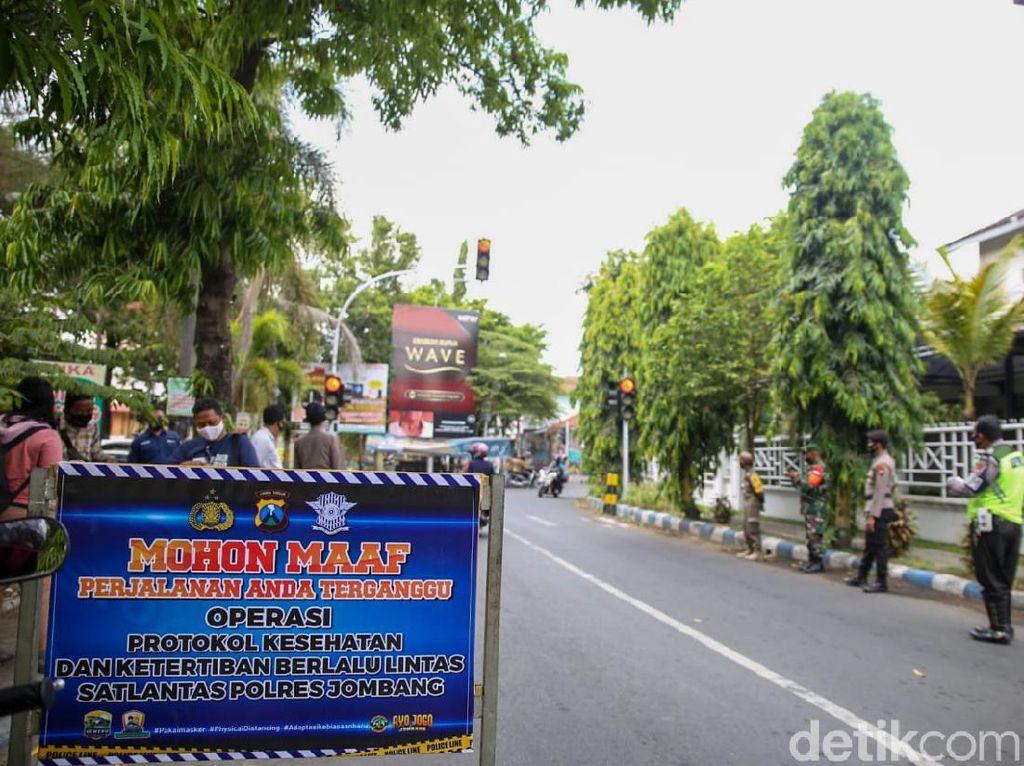 Puluhan Pengendara Terjaring Operasi Yustisi di Jombang