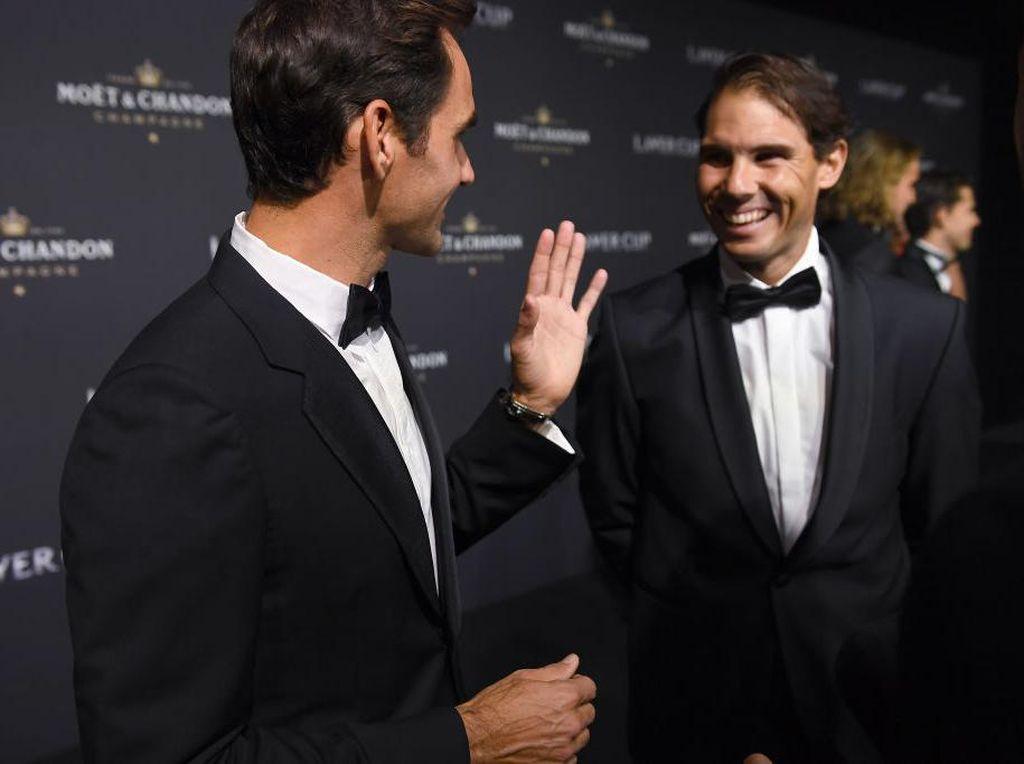 Nadal Samai 20 Gelar Grand Slamnya, Federer Beri Selamat