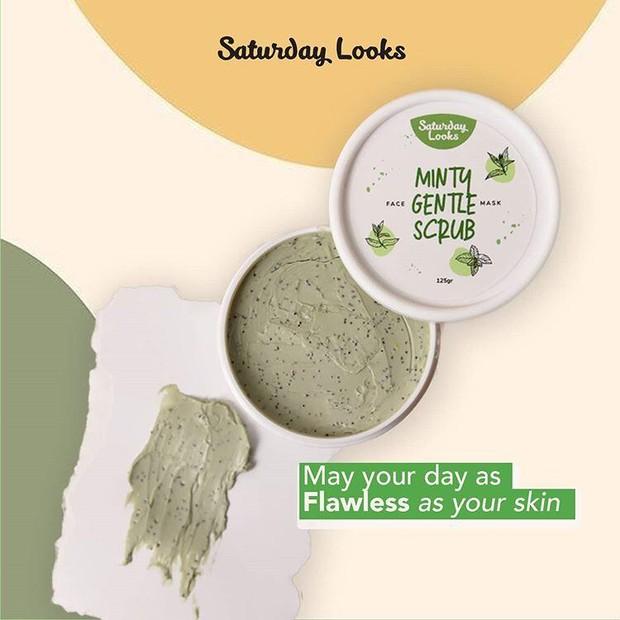 Saturday Looks Minty Gentle Scrub/ Source: Instagram.com
