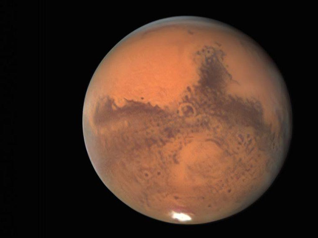Megaflood Tunjukkan Mars Dulunya Pernah Punya Kehidupan