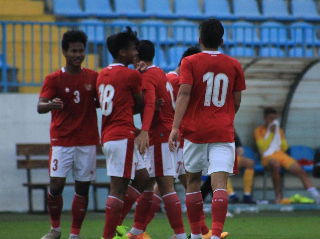 Melihat Lagi Dua Gol Jack Brown Saat Timnas U-19 Gasak Makedonia Utara