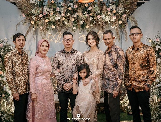 Potret engagement sosok Atries Angel, mantan kekasih Chef Junna.