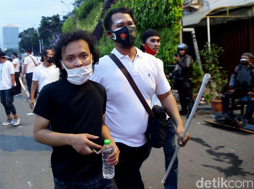 Pelajar Ikut Demo Tolak UU Ciptaker, Polisi: Ada Penggeraknya